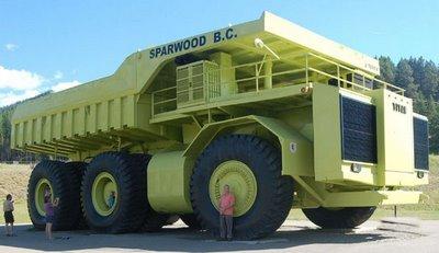 le camion le plus gros du monde. Black Bedroom Furniture Sets. Home Design Ideas