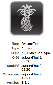 Pwnage iphone 2.2