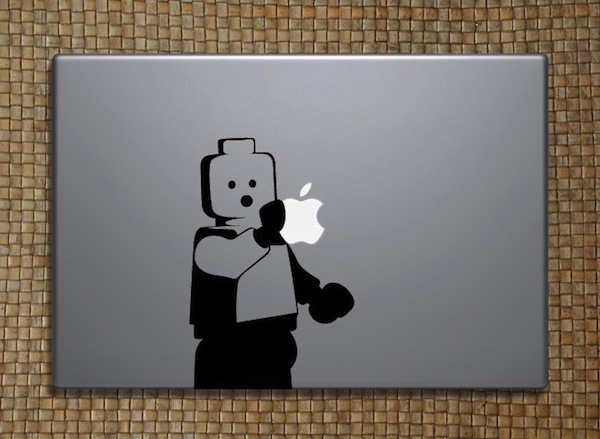 Sticker Lego pour Macbook