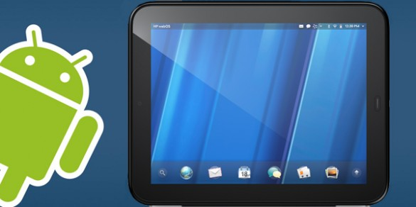 Android sur une HP Touchpad