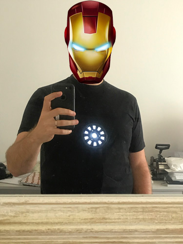 Iron man arc reactro arduino