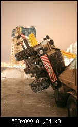 Accident de grue en Russie
